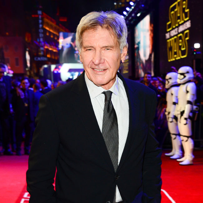 MANDATORY BYLINE: Jon Furniss / Corbis Harrison Ford attending the Star Wars 'The Force Awakens' European premiere at Leicester Square, London, Britain on 16 Dec 2015. Pictured: Harrison Ford Ref: SPL1197572 161215 Picture by: Jon Furniss / Corbis Splash News and Pictures Los Angeles: 310-821-2666 New York: 212-619-2666 London: 870-934-2666 photodesk@splashnews.com