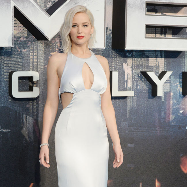 The premiere of X- Men: Apocalypse at BFI Imax, London Pictured: Jennifer Lawrence Ref: SPL1271213 090516 Picture by: Splash News Splash News and Pictures Los Angeles: 310-821-2666 New York: 212-619-2666 London: 870-934-2666 photodesk@splashnews.com