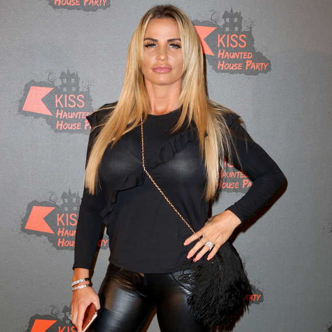 Katie Price at the Kiss Haunted House Party, London, UK