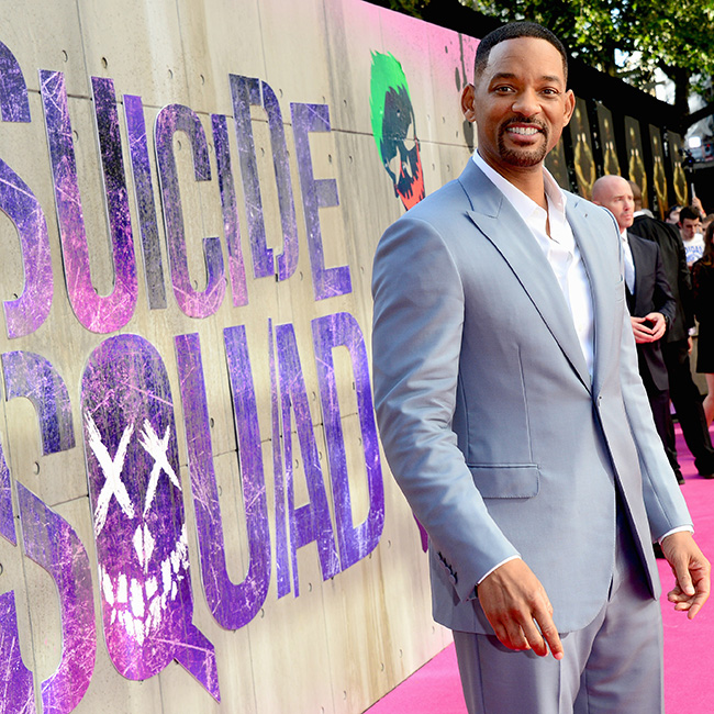 "MANDATORY BYLINE: Jon Furniss Margot Robbie  attends the European Premiere of ""Suicide Squad"" at Odeon Leicester Square on August 3rd 2016. Pictured: Will Smith Ref: SPL1329897  030816   Picture by: Jon Furniss Splash News and Pictures Los Angeles:310-821-2666 New York:212-619-2666 London:870-934-2666 photodesk@splashnews.com"